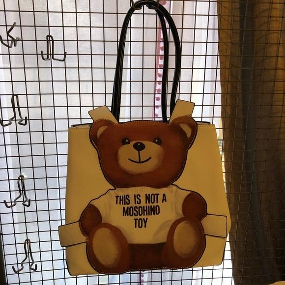 ccbf4f6b17 Love Moschino Bags | Moschino Bear Tote | Poshmark